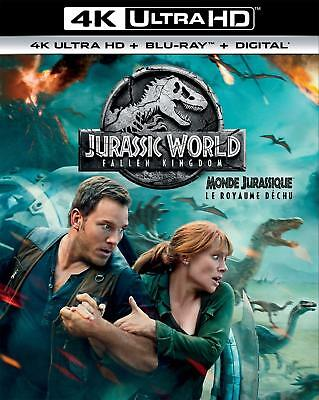 Jurassic World: Fallen Kingdom 4K UltraHD +Blu-ray+Digital HD STEF-157(STEF-24)