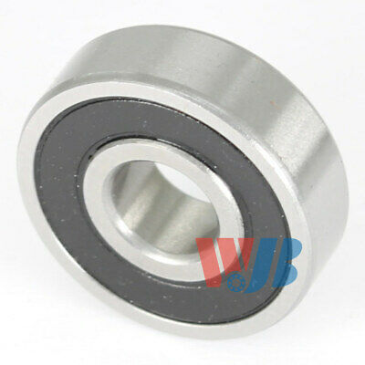 Stainless Steel Radial Ball Bearing S606-2RS With 2 Rubber Seals 6x17x6mm