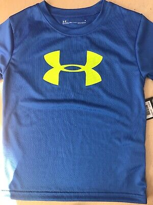 Under Armour Boys Toddler YOU CAN/'T STOP ME T-Shirt Orange 27E54735-84 NWT