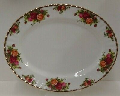 "Royal Albert OLD COUNTRY ROSES Oval Serving Platter (13"") More Items Available"
