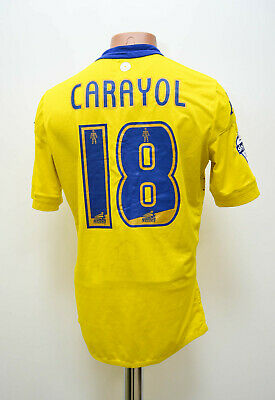 Leeds United 2015/2016 Away Football Shirt Jersey Kappa Carayol #18 Size L Adult