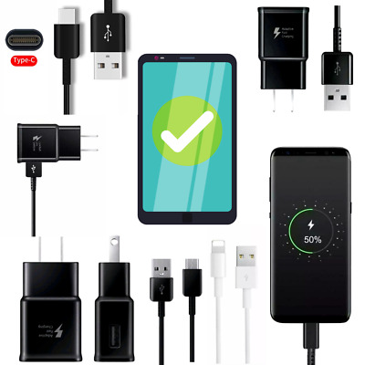 Fast charging charger for Samsun Galaxy S8/S9 /Note8/car charger/microusb/TypeC