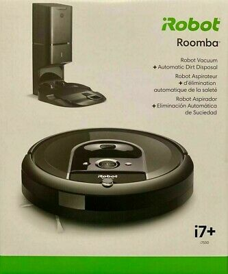 BRAND NEW UNOPENED iRobot Roomba i7+ w/Automatic Dirt Disposal (i755020)