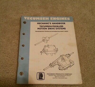 ARIENS GARD-N-YARD & SNO-THRO Parts Manual for Tecumseh & Peerless