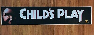 ⭐ Child's Play - Chucky - Movie Theater Poster Mylar Small Version