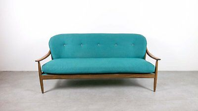Vintage Mid century Teak sofa Greaves and Thomas Eames Era