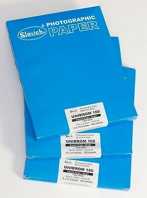 Slavich Unibrom 160 Single Weight Photographic Paper