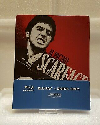 Scarface (Blu-ray SteelBook) [Netherlands] - Import audio ITA