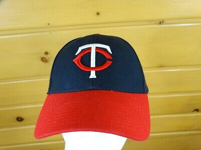 best sneakers 4fd1f 979e4 Minnesota Twins Cap Hat Red Blue One Sizes 47 Brand Mlb Baseball 📬