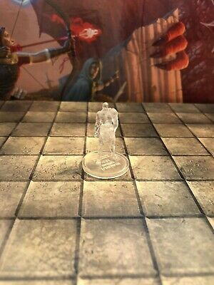 FLESH GOLEM INVISIBLE mad mage zombie Dungeons Dragons miniature D&D  pathfinder