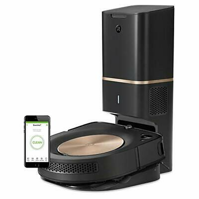 iRobot Roomba s9+ (9550) Robot Vacuum with Automatic Dirt Disposal- Wi-Fi Connec