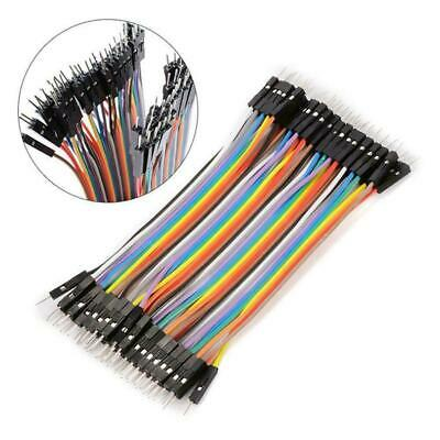 40pcs Dupont 10CM Male To Male Jumper Wire Ribbon Cable for Breadboard Ardu X4M8