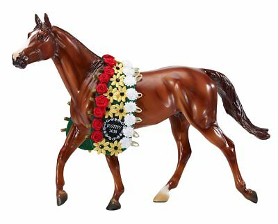 Breyer NIB * Justify * Triple Crown Winner Racehorse Traditional Model Horse