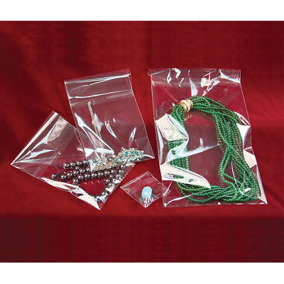 100 3x5 Clear Self Seal Lip & Tape Plastic Bags Cello OPP Polypropylene