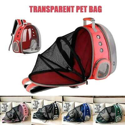 Portable Pet Puppy Bags Travel Carrier Backpack Cat Dog Space Capsule Breathable