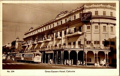 1956. Real Photo, Great Eastern Hotel, Calcutta. Postcard Db22