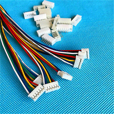 20Pcs JST PH 2.0mm 6 Pin Female Connector with Wire Cable Male Connector 2018