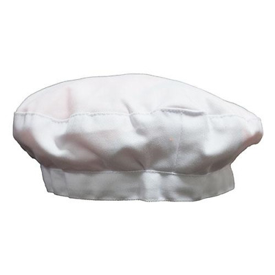 Cooking Beret White H-3661S