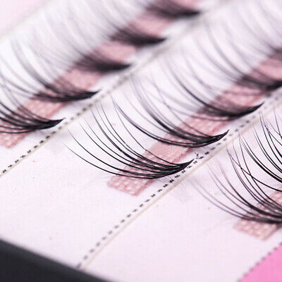 96b835737b5 False Eyelashes Flare Thick Cluster 60 Stand Corner Individual Extension  Lashes
