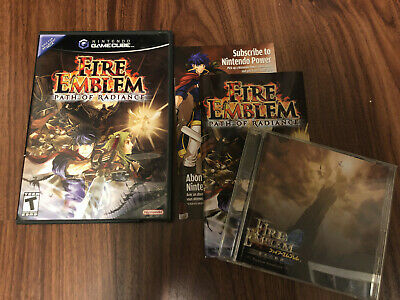 Fire Emblem Path of Radiance for Nintendo GameCube with Music CD Soundtrack