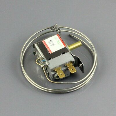 New WPF-20 Terminals Freezer Refrigerator Thermostat with 65cm Metal Cord 2 Pin