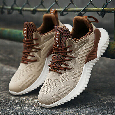 Men's Casual Walking Trainers Sneakers Breathable Fitness Mesh Shoes Sports USA