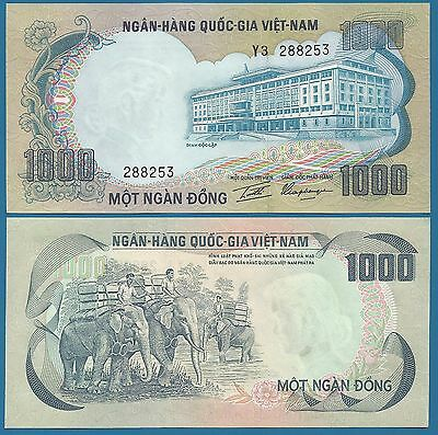 UNC Low Shipping South Vietnam 1000 Dong P 34 a ND 1972 South Viet Nam