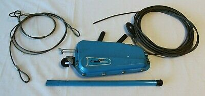 Mini Clima Wire/Cable Rope Hand Winch With Wire - Used