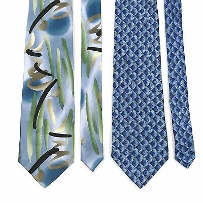 abf7c92b65d2 LOT OF 2 Jerry Garcia Tie Blue one NWT Moon Mountain & In The Park ...