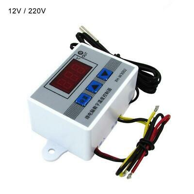 12V/220V Digital LED Temperature Controller Thermostat Control Switch Probe UK