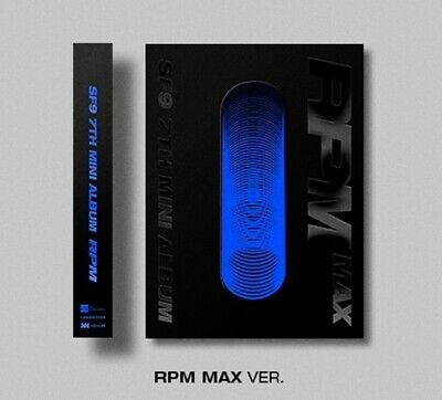 SF9 7th Mini Album [RPM] MAX Ver. CD+84p Booklet+2p Photocard+F.Poster+ID Card