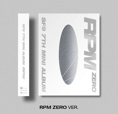 SF9 7th Mini Album [RPM] ZERO Ver. CD+84p Booklet+2p Photocard+F.Poster+ID Card