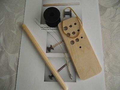 Viking Knitting, Draw Plate, Knitting Stick & Spool