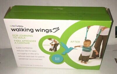 UpSpring Baby Walking Wings Learning To Walk Assistant, Blue Azul