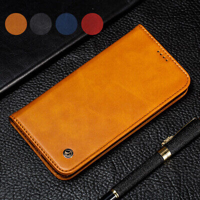 Luxury Magnetic Leather Wallet Card Flip Case Cover For Huawei P30 Lite/Honor 8X
