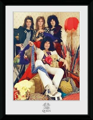 Queen Band Freddy Mercury Framed Photographic Print 30.5x41cm|16x12 inches