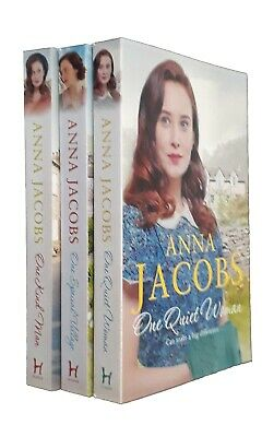 Anna Jacobs 3 Books Ellindale Romance Family Saga In Order One Quiet Woman New