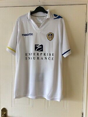 Leeds United 2011-2012 Home Football Shirt-Adult Size Medium