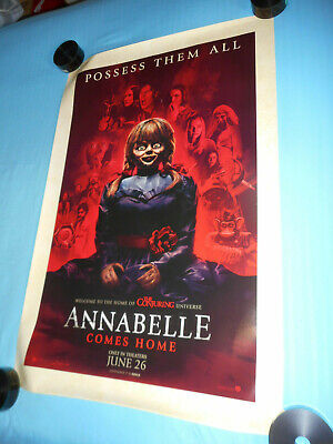 "ANNABELLE COMES HOME orig movie poster one sheet DS 27""x40"" Conjuring Universe"