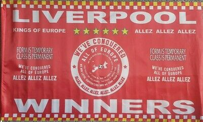 Liverpool Flag European Champions 2019