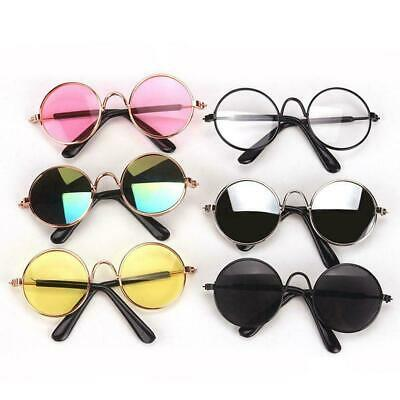 Vintage BJD Doll Oval Glasses For 1/6 YOSD 1/4 MSD Doll Accessories GS3-4 Y4Q3