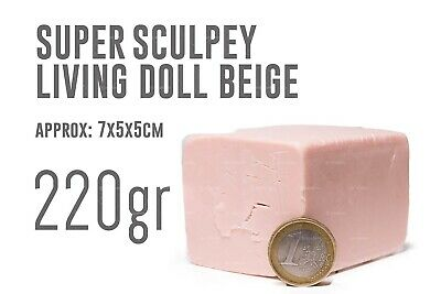 Super Sculpey Living Doll (220gr) - Polyform Products Company 9999900126082