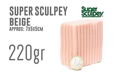 Super Sculpey Beige (220gr) - Polyform Products Company 9999990129901