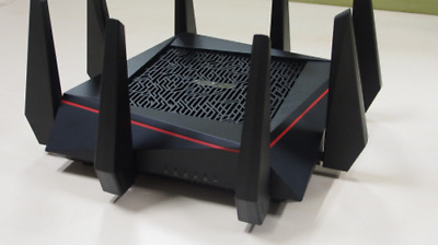 ASUS RT-AC5300 5300 Mbps 4-Port Wireless AC Router with Asuswrt