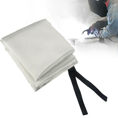 UK Welding Blanket 1.8m x 1.2m Fiberglass Heavy Duty Welders Blanket Safety