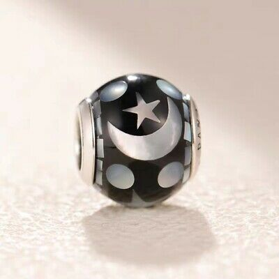 f3b37a132a7 Authentic Pandora Celestial Mosaic Mother-of-Pearl Charm Bead #796400MMB