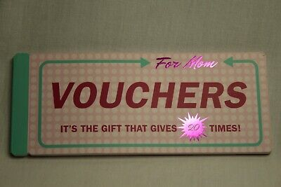 Knock Knock Vouchers For Mom ~ The Gift That Gives 20 Times