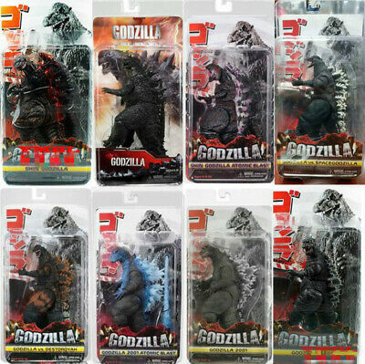"NECA 9 Styles Movie Shin Red Godzilla 12''Head To Tail 7""Action Figure Model Toy"