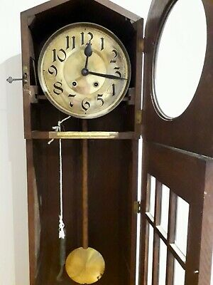 1930s Antique  Westminster Chime Grandmother Clock. Not currently working.