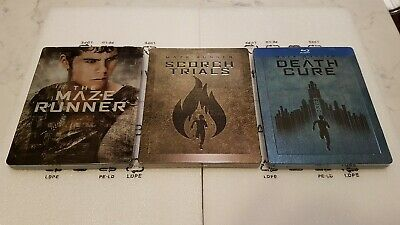 The Maze Runner Trilogy (Blu-ray Single SteelBook) [Italy]